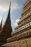 Tempiale di Bangkok Immagini Stock