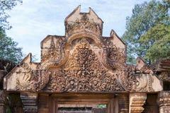 Tempiale di Banteay Kdei Fotografie Stock