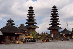 Tempiale di Batur Immagine Stock