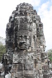 Tempiale di Bayon Fotografie Stock