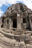Tempiale di Bayon Fotografia Stock