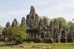 Tempiale di Bayon, Angkor Thom, Cambogia Immagine Stock Libera da Diritti