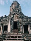 Tempiale di Bayon, Angkor Thom fotografia stock