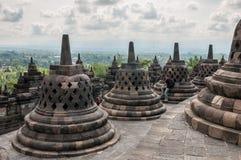 Tempiale di Borobudur Fotografie Stock Libere da Diritti