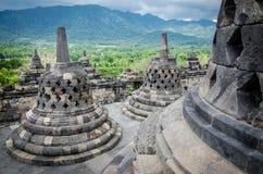 Tempiale di Borobudur Immagine Stock