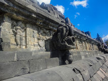 Tempiale di Borobudur in Indonesia Immagini Stock
