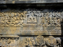 Tempiale di Borobudur in Indonesia Immagine Stock