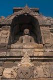 Tempiale di Borobudur, Java centrale, Indonesia Fotografia Stock Libera da Diritti