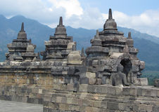 Tempiale di Borobudur, Yogyakarta immagine stock