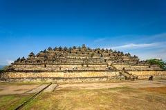 Tempiale di Borobudur, Yogyakarta, Java, Indonesia. Immagine Stock Libera da Diritti