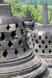 Tempiale di Borobudur, Yogyakarta, Java, Indonesia Fotografia Stock Libera da Diritti