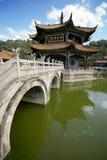 Tempiale di Buddist in Cina Fotografia Stock