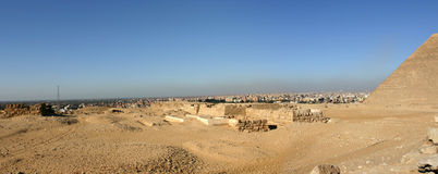Tempiale di Cairo Fotografia Stock