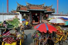 Tempiale di Cheng Hoon Teng Fotografia Stock