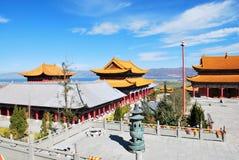 Tempiale di Chong Sheng Fotografia Stock