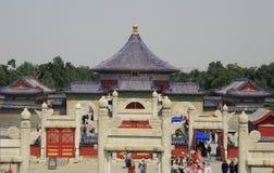Tempiale di cielo, Pechino Fotografie Stock