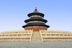 Tempiale di cielo, Pechino Cina Fotografie Stock Libere da Diritti