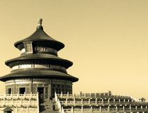 Tempiale di cielo (Tian Tan) a Pechino 001 Immagini Stock Libere da Diritti