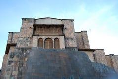 Tempiale di Coricancha Cuzco Fotografie Stock