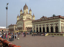 Tempiale di Dakshineswar Immagine Stock