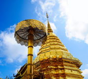 Tempiale di Doi Suthep Fotografia Stock Libera da Diritti