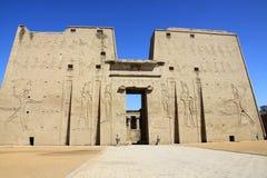 Tempiale di Edfu Fotografia Stock Libera da Diritti