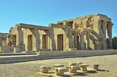 Tempiale di Edfu, Egitto Fotografie Stock Libere da Diritti