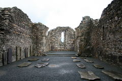 Tempiale di Glendalough Fotografie Stock
