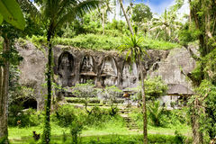 Tempiale di Gunung Kawi a Bali, Indonesia Immagini Stock