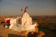 Tempiale di Hanuman, Hampi, Karnataka, India Immagini Stock