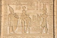 Tempiale di Hathor Fotografie Stock