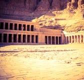 Tempiale di Hatshepsut Fotografie Stock Libere da Diritti
