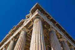 Tempiale di Hephaestus Fotografia Stock