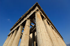 Tempiale di Hephaestus Immagine Stock Libera da Diritti