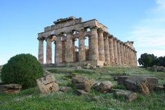 Tempiale di Hera fotografie stock libere da diritti