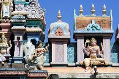 Tempiale di Hinduism a Penang immagine stock libera da diritti