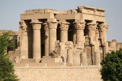Tempiale di Horus e di Sobek in Kom-Ombo Immagine Stock Libera da Diritti