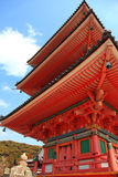 Tempiale di Jinjia a Kyoto Fotografia Stock Libera da Diritti