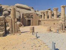 Tempiale di Kalabsha (Egitto, Africa) Fotografia Stock