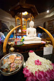 Tempiale di Kandy della reliquia del dente del signore Fotografie Stock
