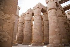 Tempiale di Karnak Immagini Stock Libere da Diritti