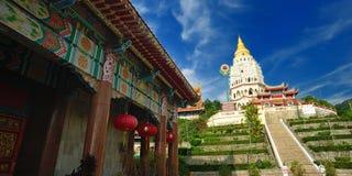 Tempiale di Kek Lok Si Immagine Stock Libera da Diritti