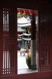 Tempiale di Keng del vino del Reno di Thian Fotografie Stock Libere da Diritti