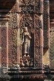 Tempiale di Khmer fotografia stock