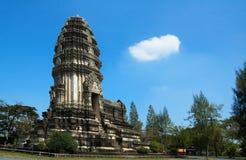 Tempiale di Khmer. Fotografie Stock