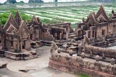 Tempiale di Khmer fotografia stock libera da diritti