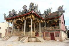 Tempiale di Khoo Kongsi, Penang, Malesia immagini stock