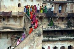 Tempiale di Khujaraho, India Fotografie Stock Libere da Diritti