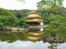 Tempiale di Kinkaju-ji a Kyoto Fotografie Stock