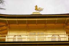 Tempiale di Kinkaku-ji a Kyoto Fotografia Stock